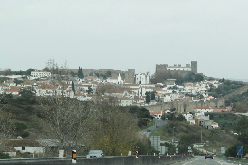 Arriving to Obidos